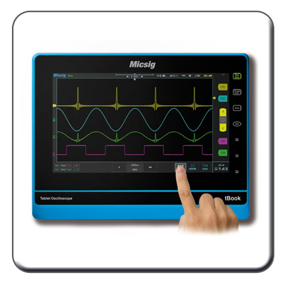 Tablet-Oscilloscopes