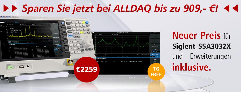 Sparen Sie jetzt bei ALLDAQ bis zu 909,-€!
