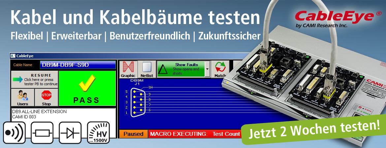Kabel und KabelbÀume testen - ideal fÌr die QualitÀtssicherung